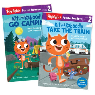 Kit and Kaboodle 2-Book Set: Camping and Train