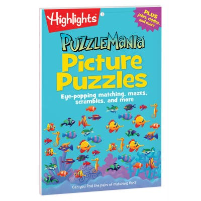 Puzzlemania Picture Puzzles Pad