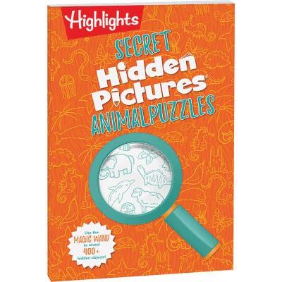 Secret Hidden Pictures Animal Puzzles