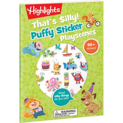 That's Silly Puffy Stickers