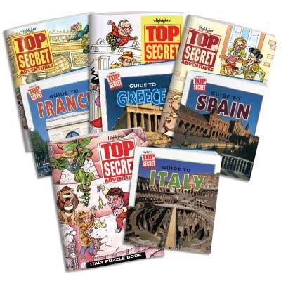 Top Secret Adventures: Travel Collection