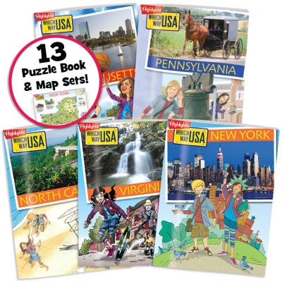 Which Way USA: 13 Colonies Collection