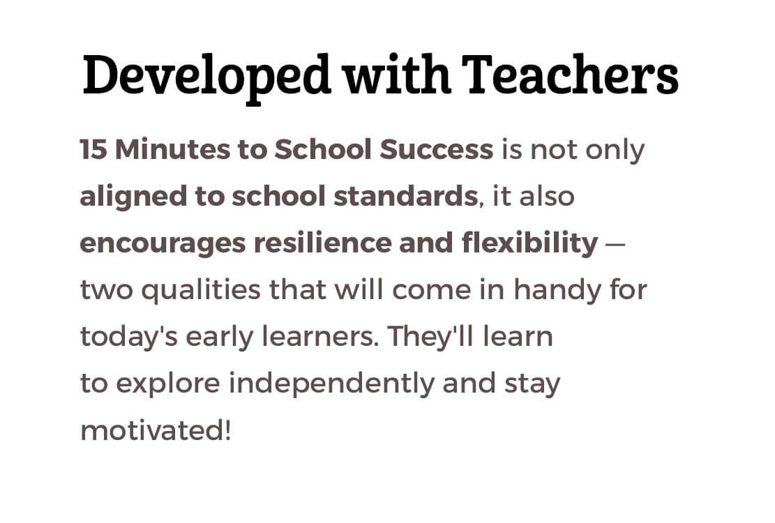 Developed with Teachers
