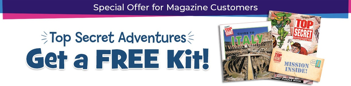 Special offer for our magazine customers! Get a free kit.