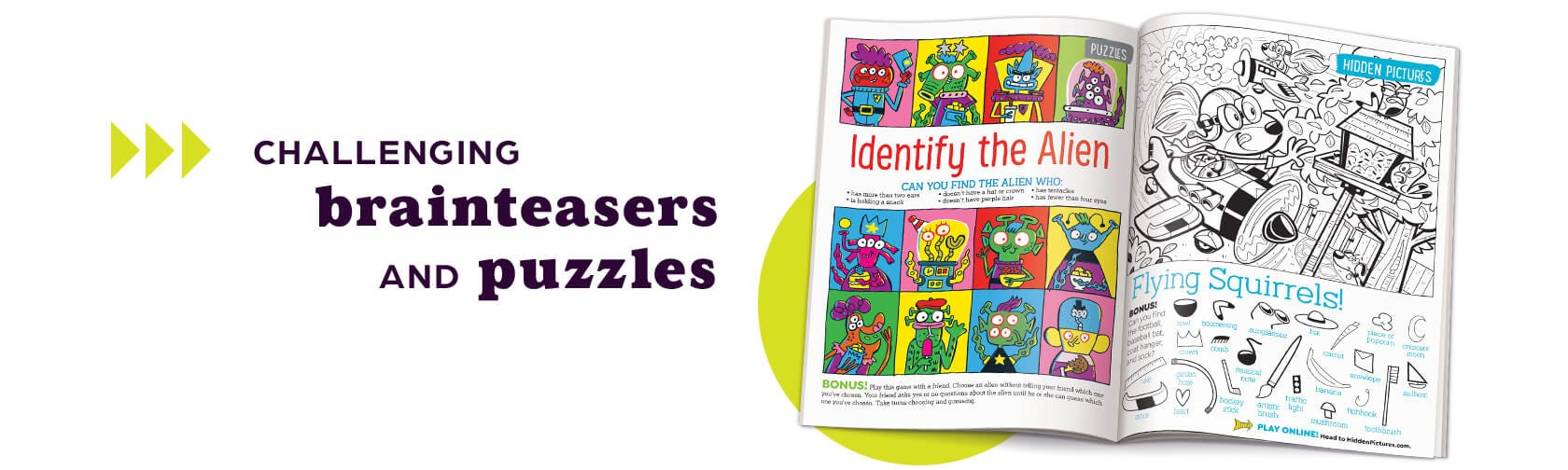 Challenging brainteasers and puzzles