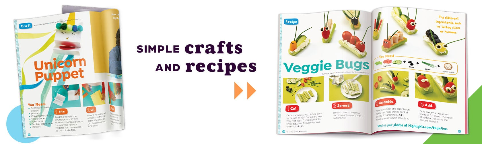 Simple crafts and recipes