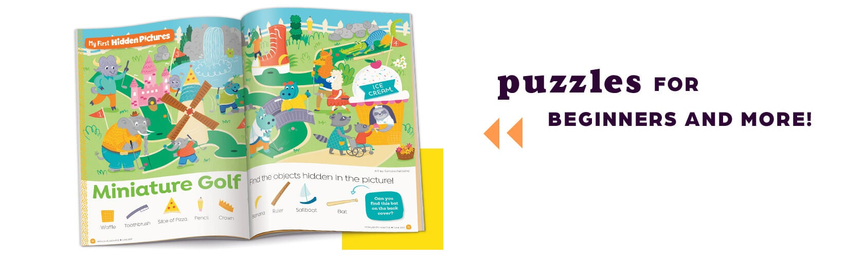 puzzles for beginners and more!