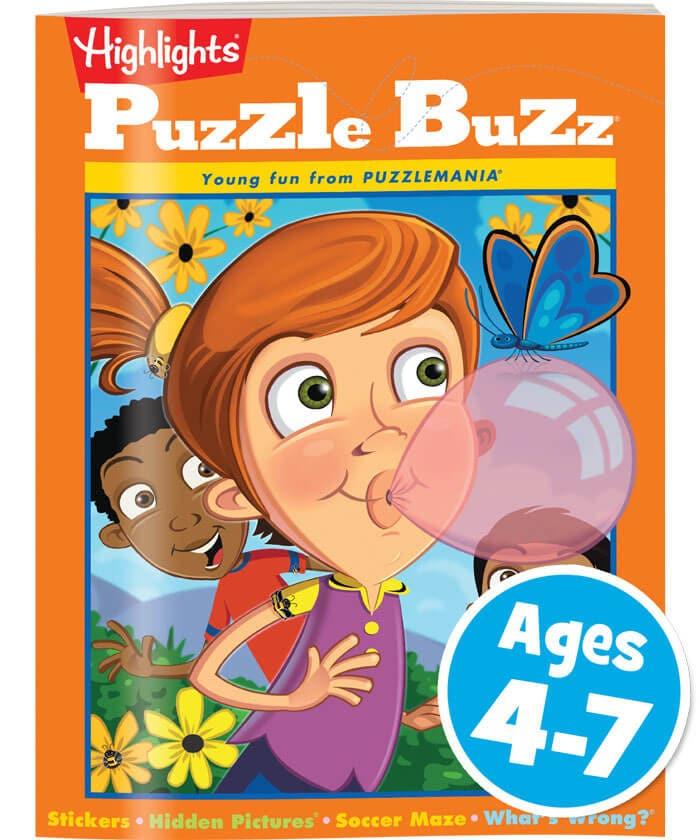 Puzzle Buzz Book Club Cover