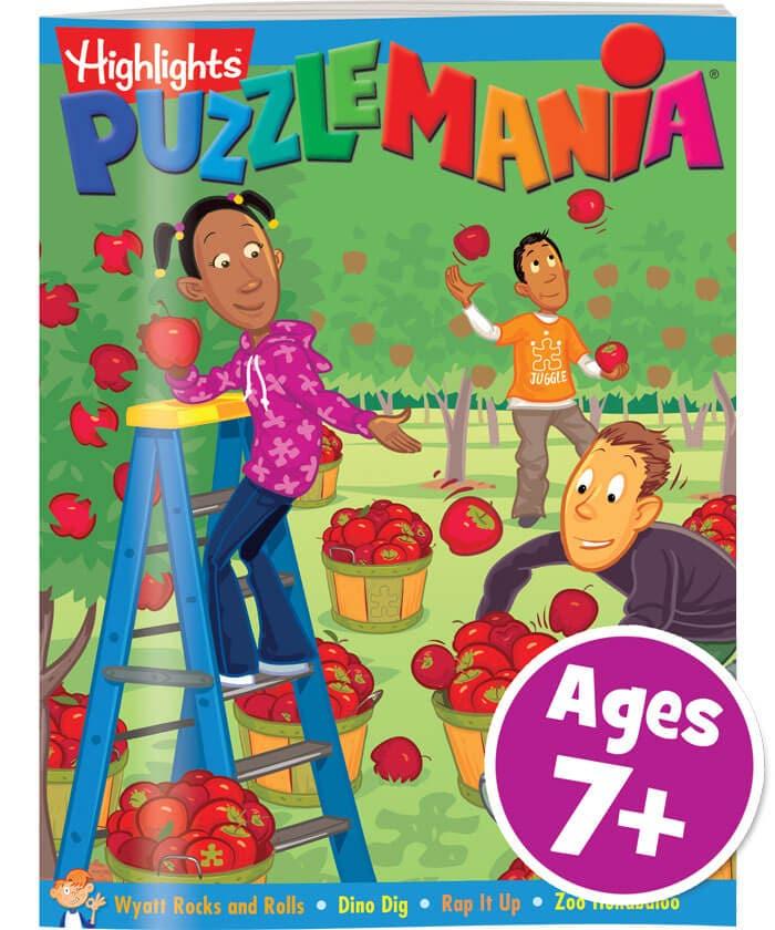 Puzzlemania Book Club Cover