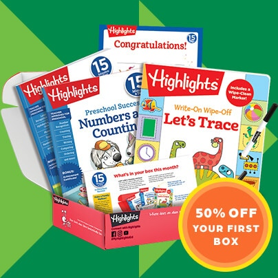 Shop subscription boxes developed with teachers – get 50% OFF your first box.