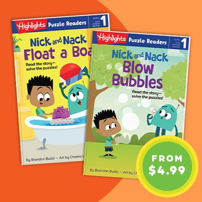 Encourage early readers with leveled books created for their age.