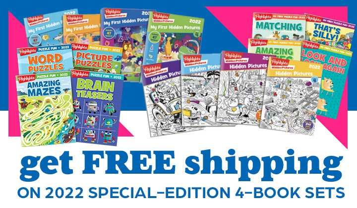 Get free shipping on 2022 special-edition 4-book sets