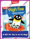 High Five Foldable Holiday Gift Announcement