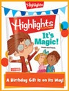 Highlights Foldable Birthday Gift Announcement