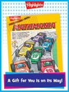 Mathmania Foldable Anytime Gift Announcement
