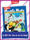 Puzzle Buzz Foldable Holiday Gift Announcement