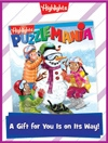 Puzzlemania Foldable Holiday Gift Announcement