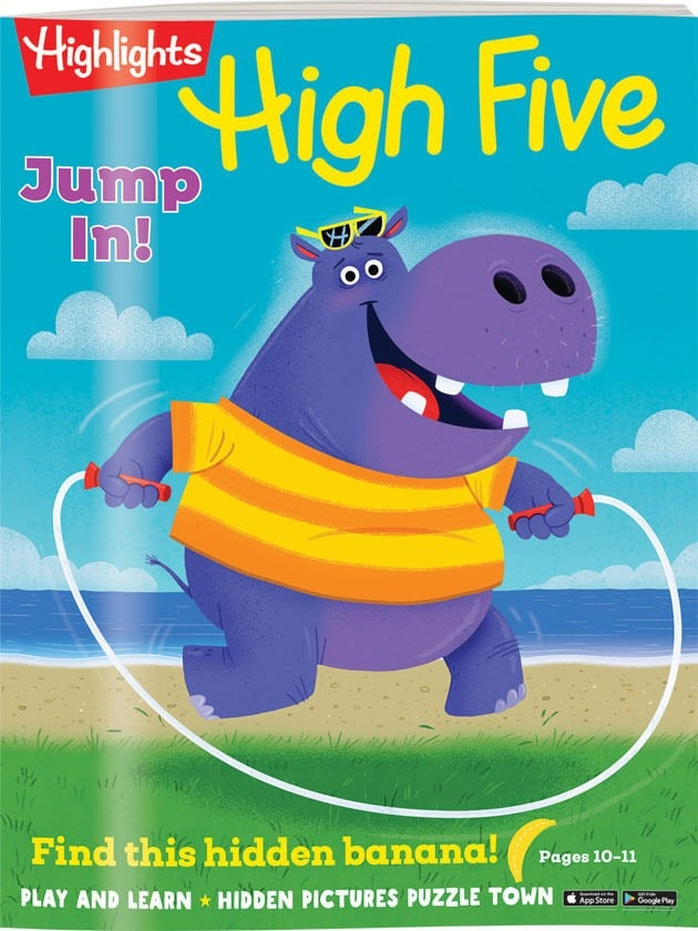 High Five Magazine Cover