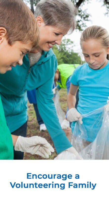 Encourage a Volunteering Family