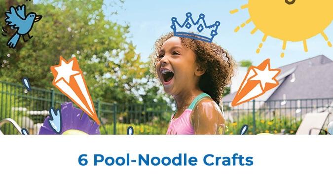 6 Pool-Noodle Crafts