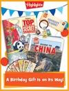 Top Secret Foldable Birthday Gift Announcement