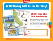 Which Way Certificate Birthday Gift Announcement